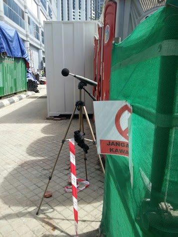 Boundary Noise Monitoring At Construction Site